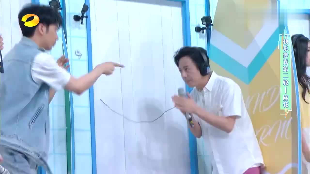 全名猜歌名,何炅实力演绎《爱的供养》,杨幂在线求放过!