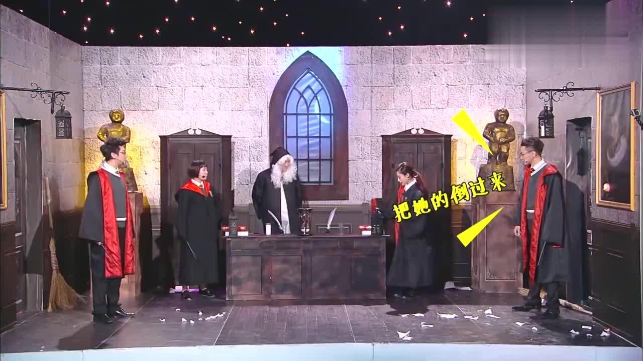 刘璇跨界爆笑小品,搞笑表情说来就来,笑点全在她脸上!