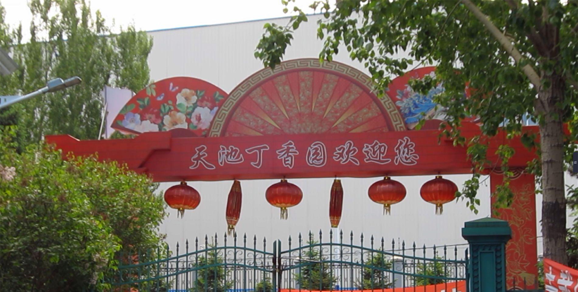 哈尔滨的大黄鸭,儿童节好去处——天池丁香园