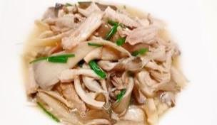 特选4种平菇炒肉片做法,味型各异,风味独特,很有地方特色