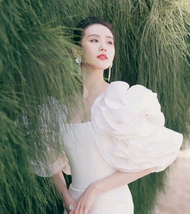 刘诗诗穿鱼尾裙,好有仙气
