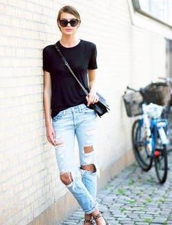 牛仔裤别再配运动鞋啦!看陈数怎么穿,这三种穿搭更高级显气质