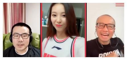 炸裂一问:CBA宝贝可以与球员谈恋爱?广东啦啦队长紧张拉衣服