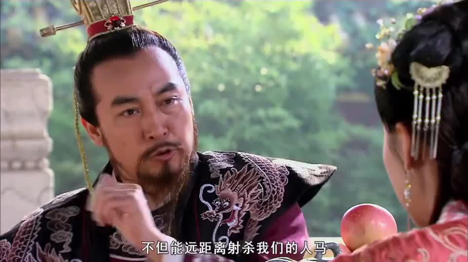 辽军用先进武器攻城,穆桂英要造强弩换取出宫机会