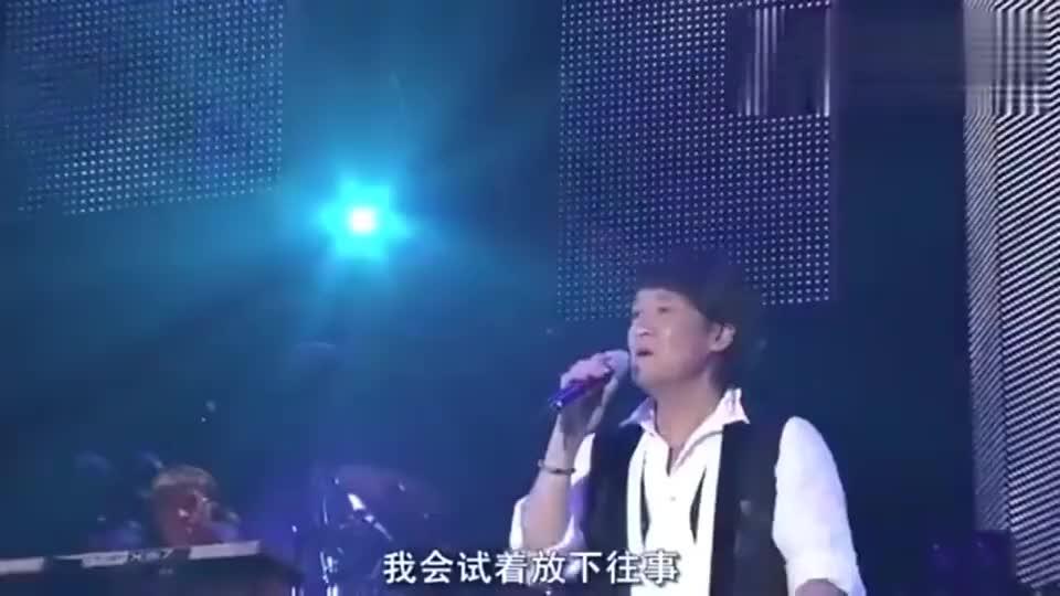 完全不输林忆莲,周华健含泪演唱《为你我受冷风吹》唱功真好!