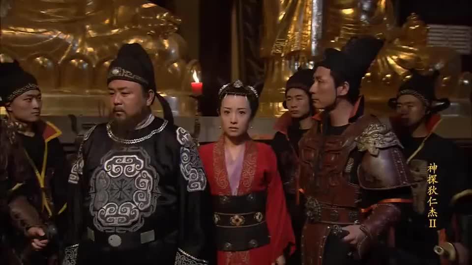 神探狄仁杰:面对被唯恐的殿宇,蛇首要如何逃脱呢?