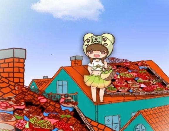 为了养多肉,我把自家房顶捅了个窟窿,只为让它晒阳光!