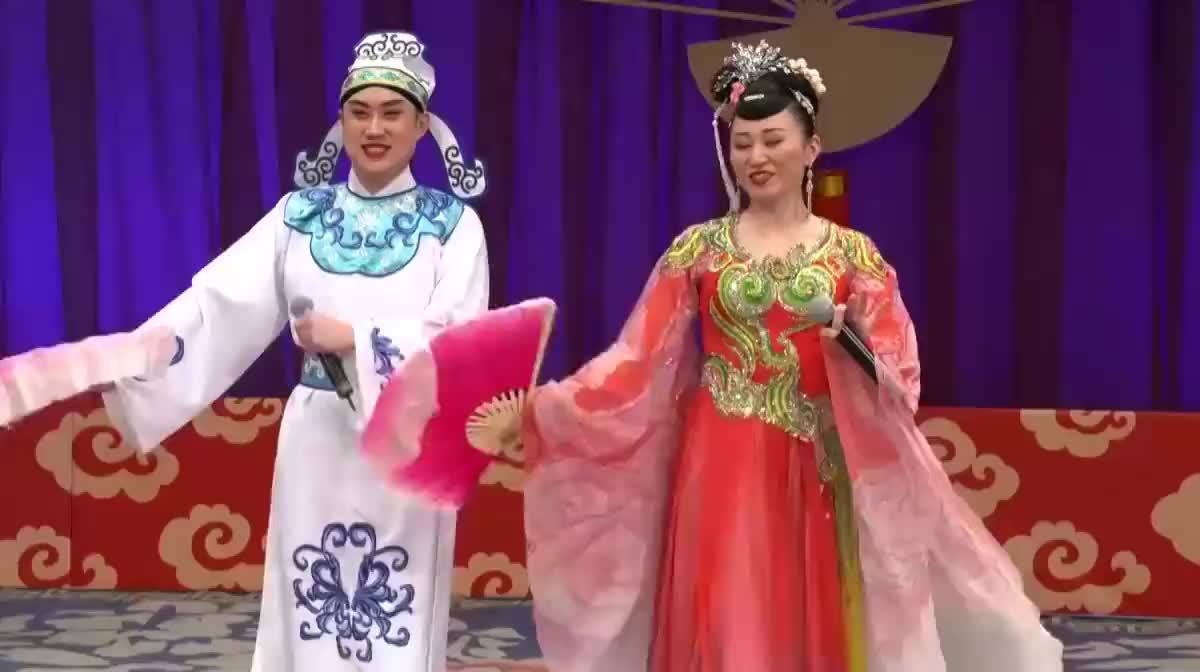 东北传统二人转:《西厢观画》选段,演员:小吴东、绿叶