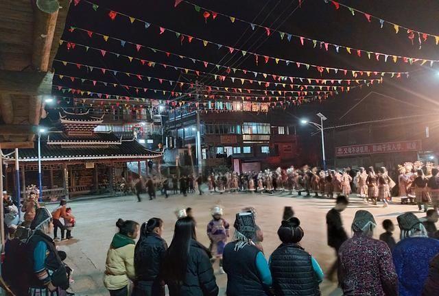 苗族芦笙舞,很有民族特色