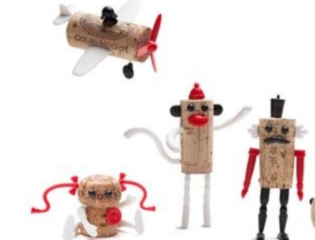 红酒瓶塞变废为宝小创意,软木塞创意DIY小制作