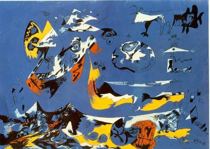 你看得懂吗?抽象表现主义绘画大师,杰克逊·波洛克作品