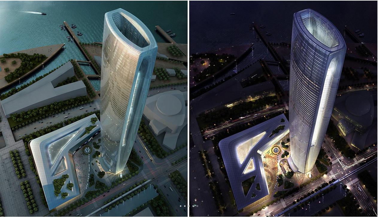 江苏很受期待的一座高楼,高达358米,将成为环太湖第一高楼