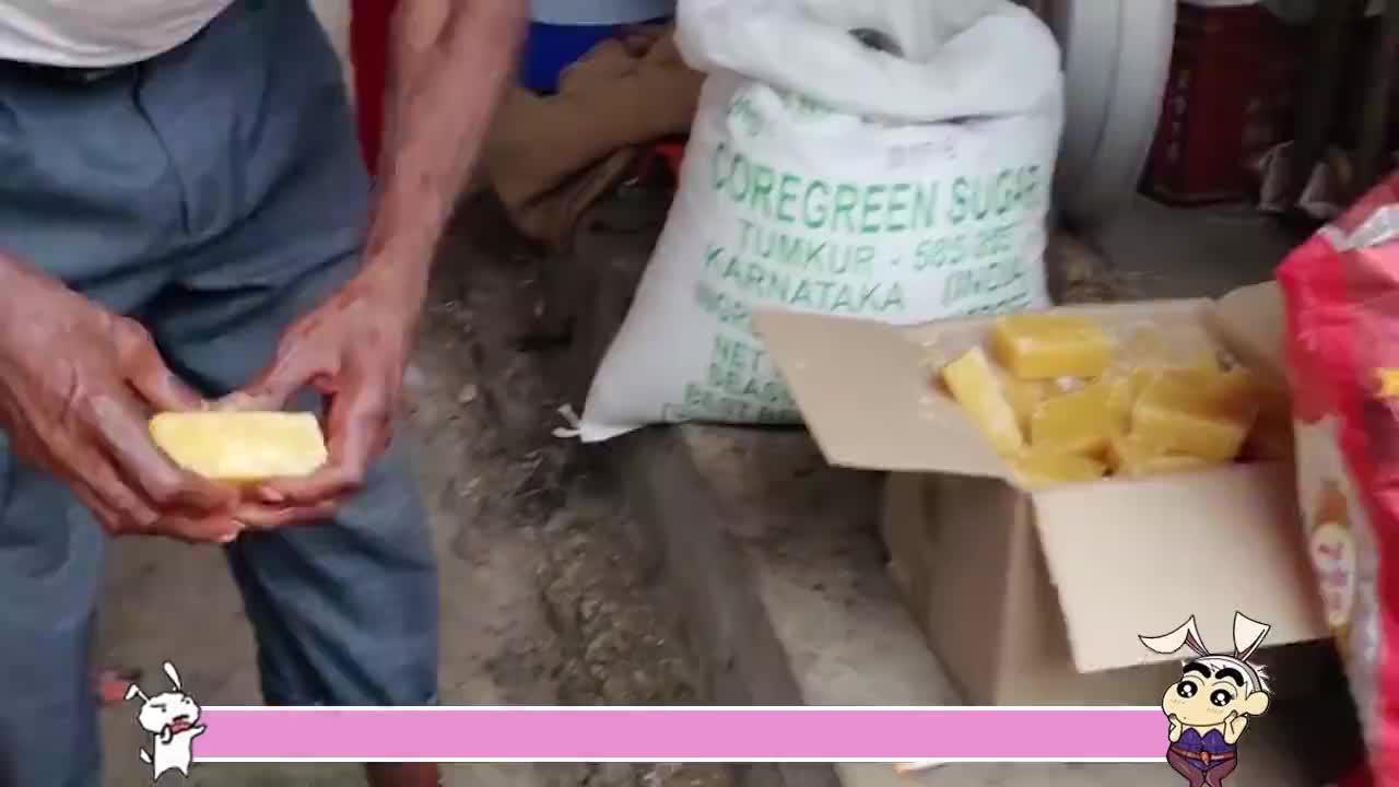 甘蔗糖在越南是怎么做的榨的汁直往外溅太壮观了