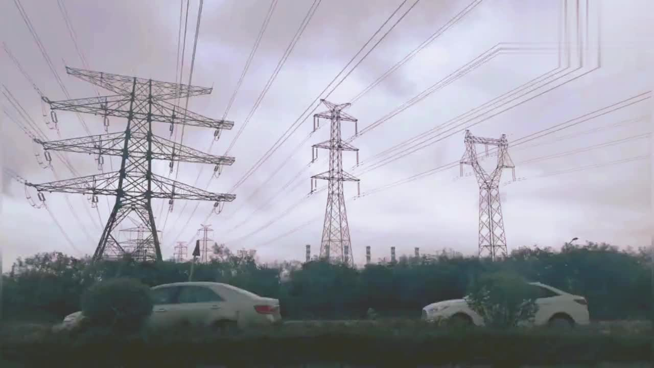 实拍惠州市大亚湾石化区。网友们说污染很重。