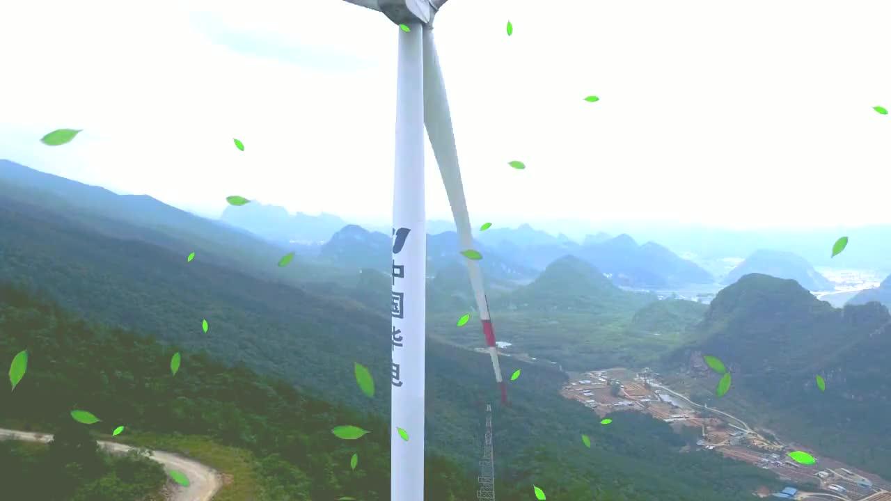 广西大明山,山脉风力发电厂,只可惜这里的风水宝地被破坏了