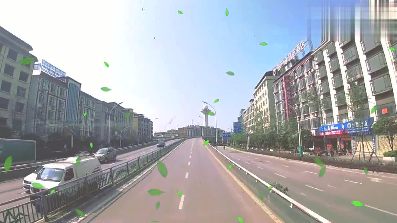 广西桂林街头的风景,不愧为世界著名的旅游城市,堪比首府南宁