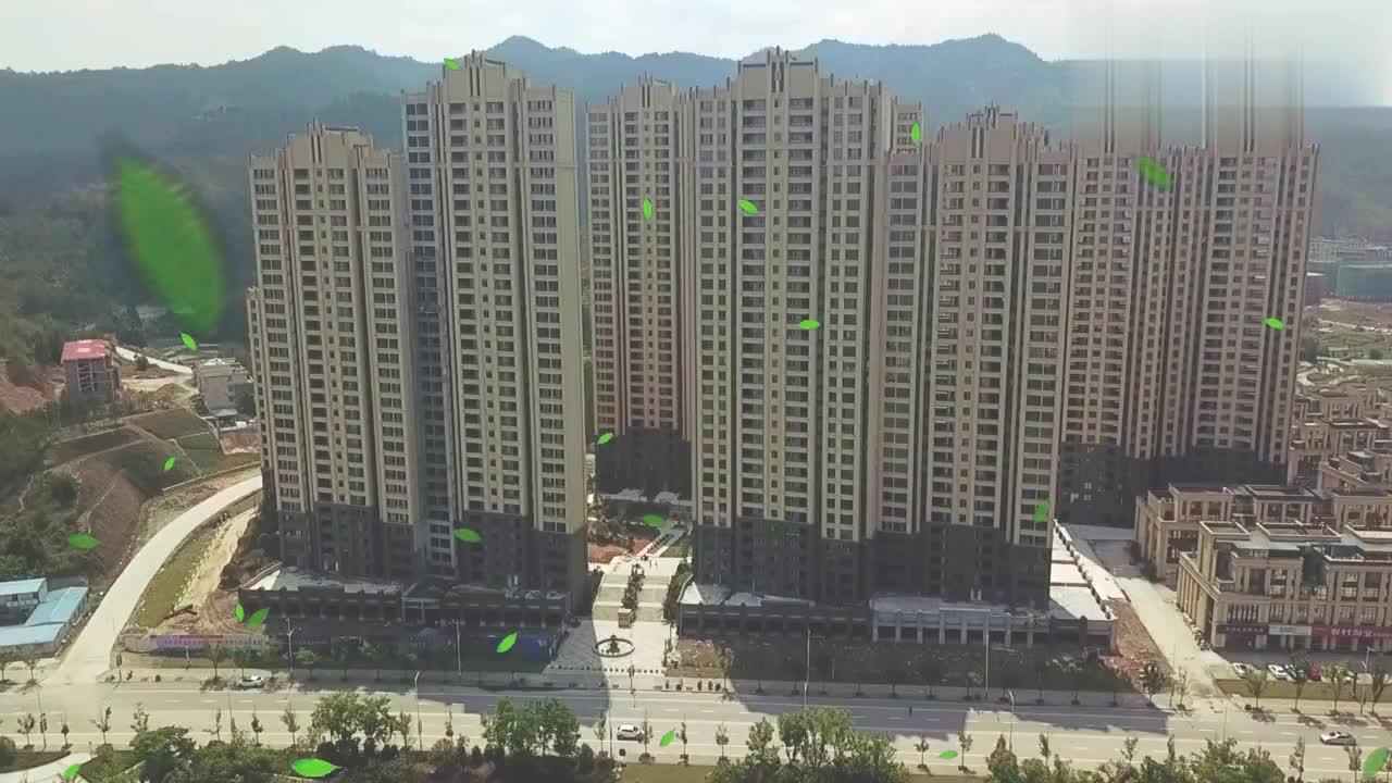航拍江西赣州石城县,高楼大厦一栋栋,像大城市一样!