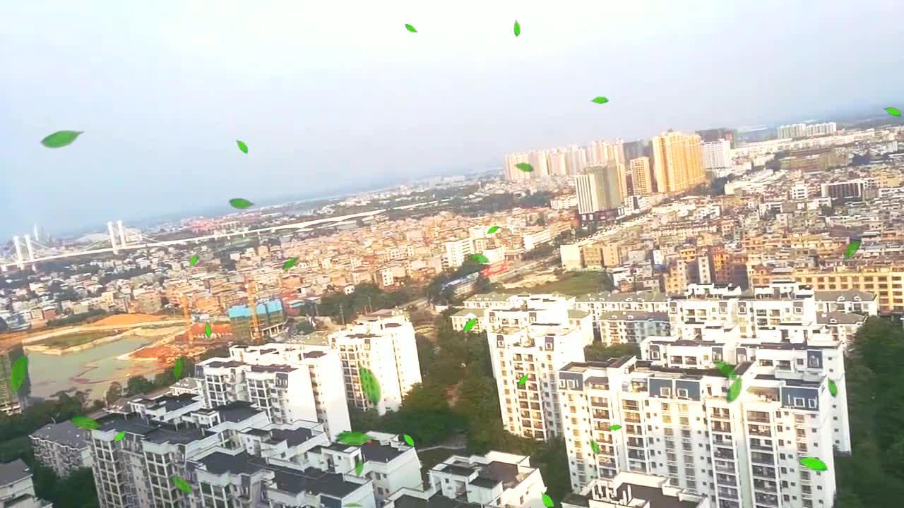 贵港市高楼大厦看到的全景,感觉人生达到了巅峰