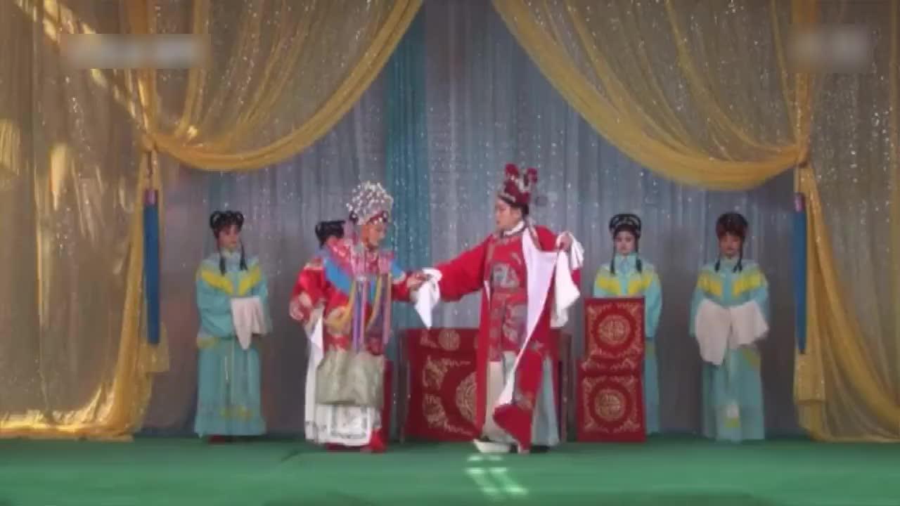 越调《打金枝》选段,这金枝打的比豫剧历害,张文格尚凤兰
