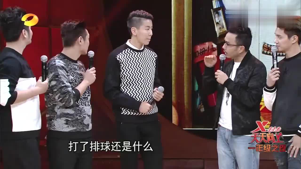天天:张晓雅身高厉害了,四年级一米七三,都可以顶俩个欧弟了