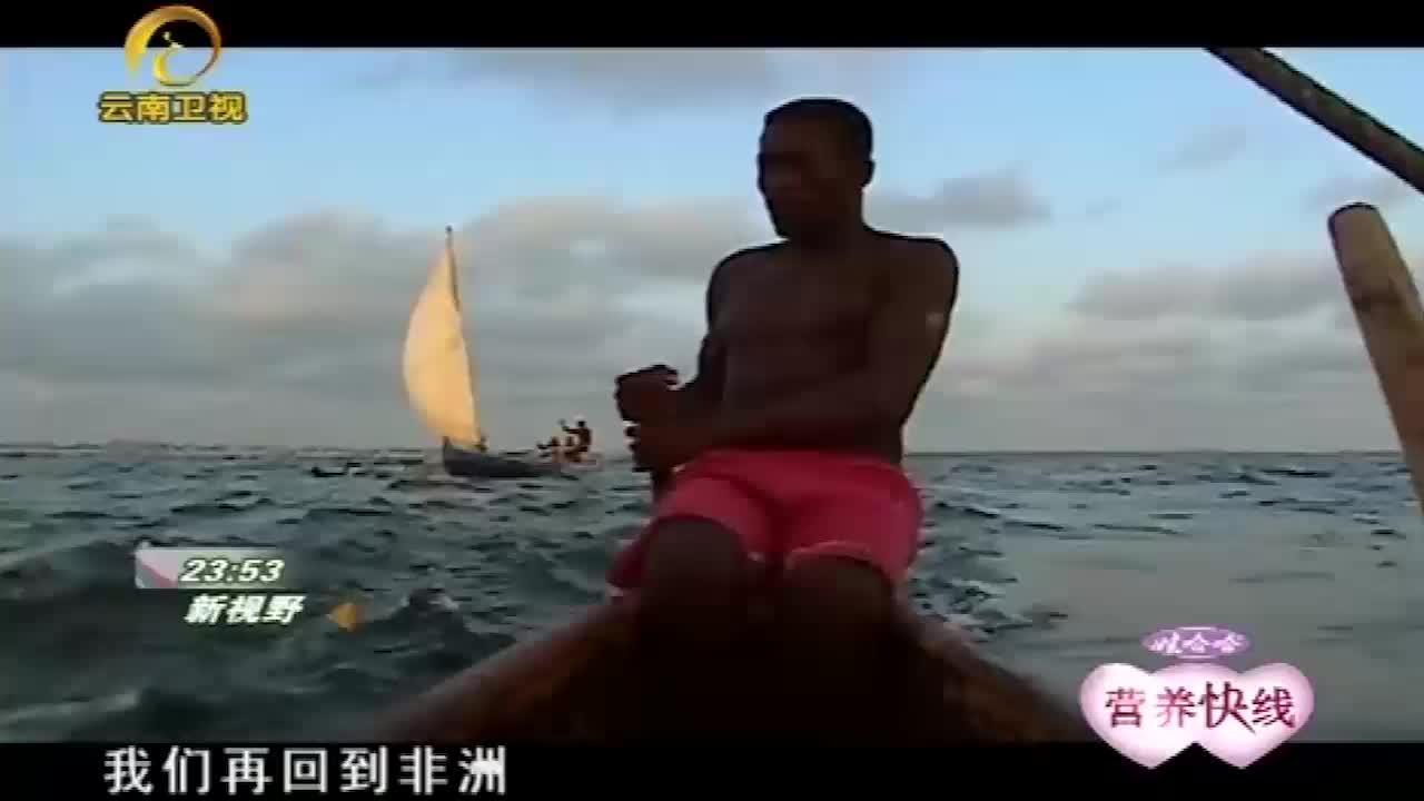 维兹人使用渔网捕捉鲨鱼,镜头记录了全过程!