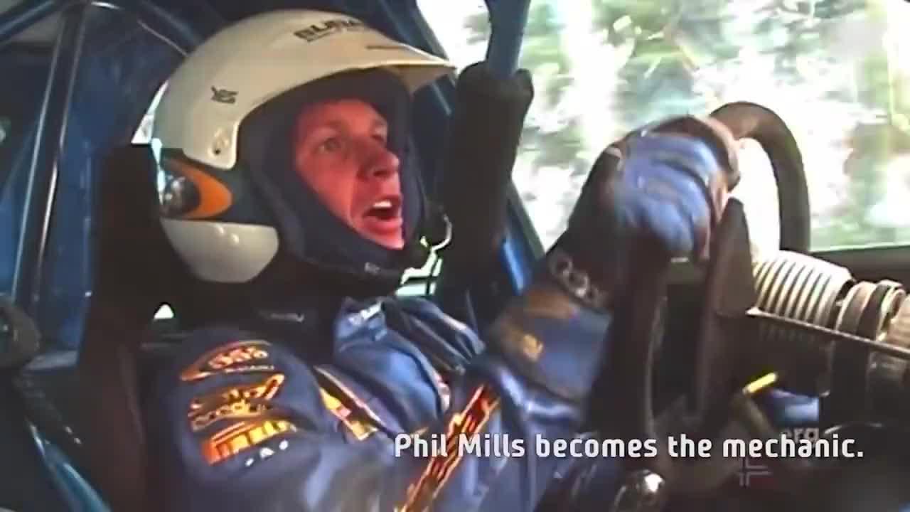 WRC:拉力赛比赛时候方向盘松了,不要慌,拧拧就好了