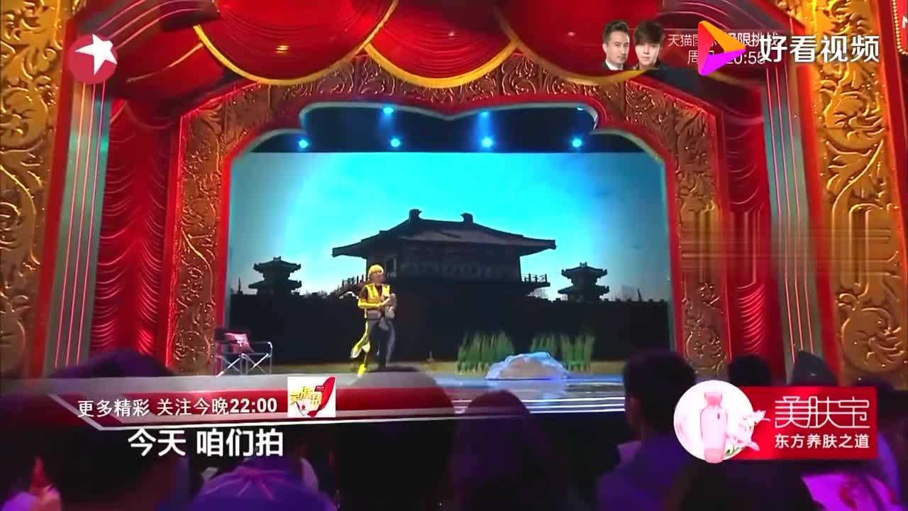 """笑傲帮:崔大笨变""""武神赵四"""",爆笑上演咬可乐,观众都坐不住了"""