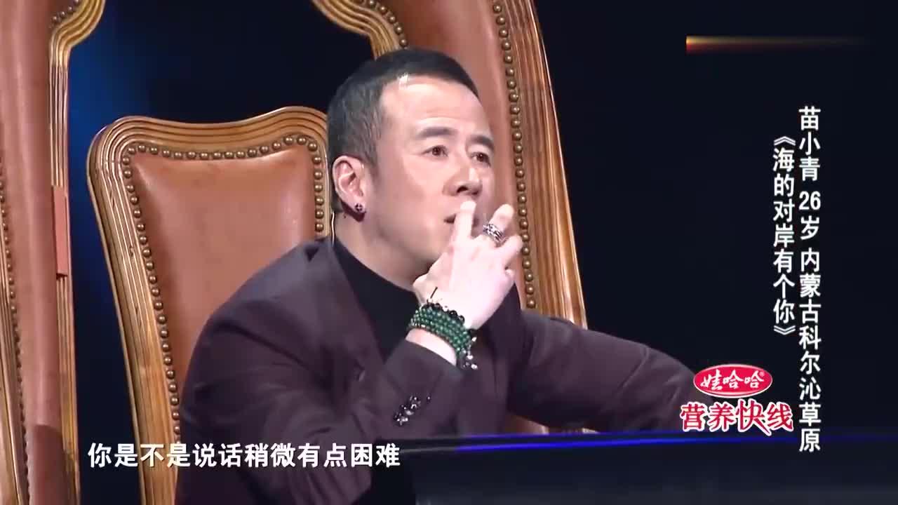 中国好歌曲:口吃男孩唱歌相当顺溜,导师开玩笑:吵架从来没赢过