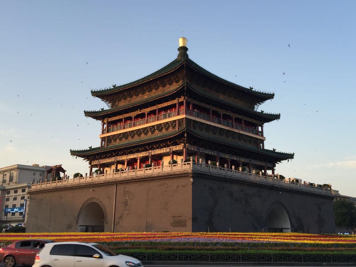 西安被忽略的一处古建筑,有百年历史,在全国同类建筑形制中最大