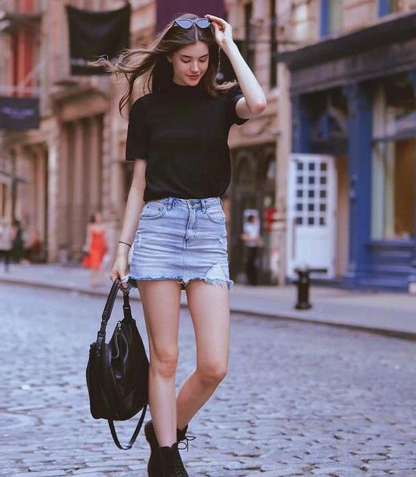 超时髦的纽约街拍,休闲舒适又随性,实力证明自信的女人最美丽