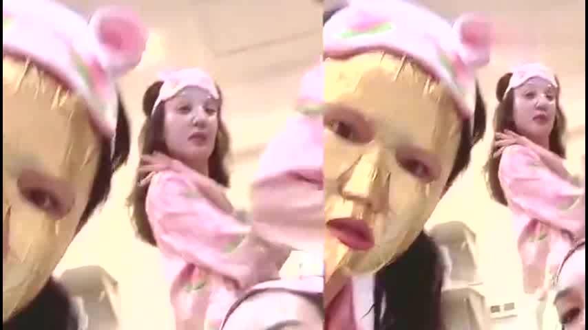 《得不到的爱情》私藏版!钟丽缇晒姐姐们穿睡衣敷面膜跳舞超欢乐