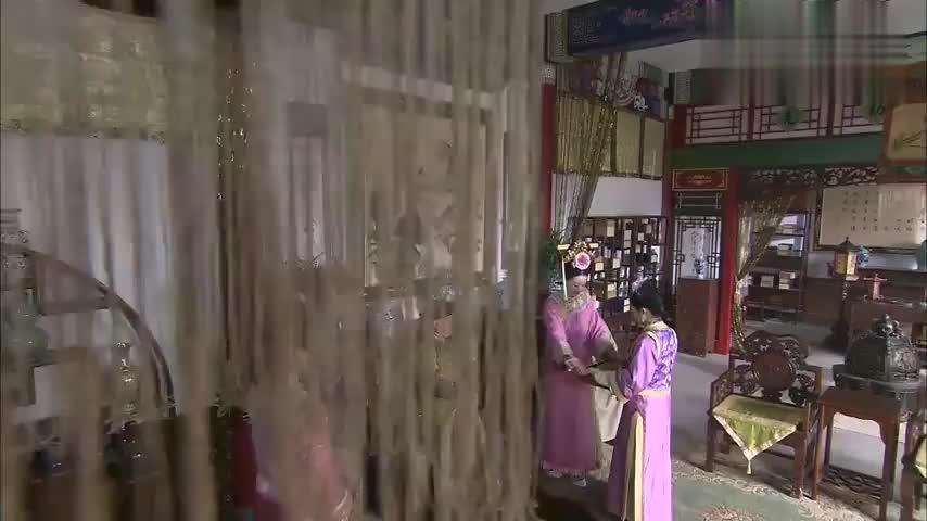 步步惊心:刘诗诗跟皇上来四爷府,看到吴奇隆夫妻恩爱,不是滋味