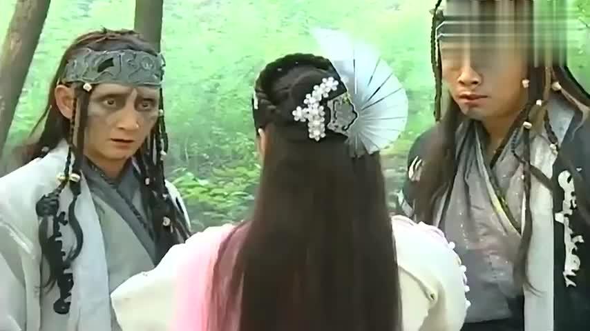 倚天屠龙记:玄冥二老想要偷袭赵敏,却惨死在倚天剑屠龙刀下!