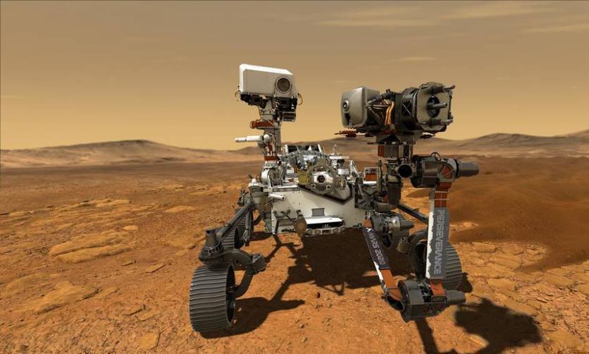 """火星表面发现""""一团火""""?毅力号火星车已装上火箭,发射倒计时"""