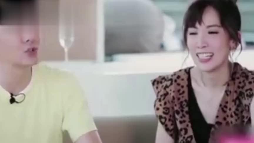林志颖初恋原来不是林心如,猛料放出后,谁注意到陈若仪的表情