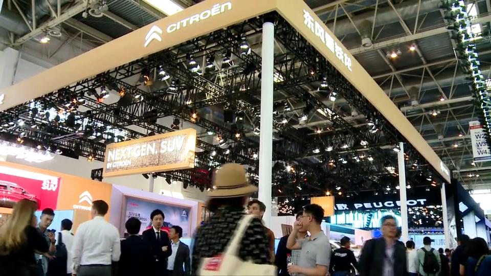 视频:【北京车展】SUV云逸你的专属互联网SUV