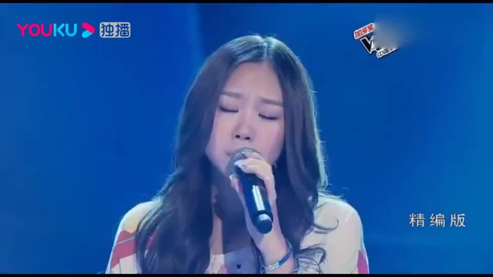 中国好声音:女孩翻唱《白天不懂夜的黑》,那英好激动!