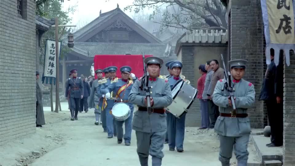 柴旅长明送匾暗抢盘,大队兵马围堵贺家老宅