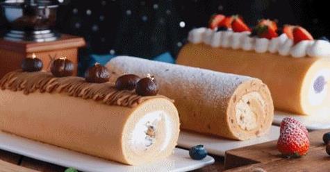 视频课程|任卷不开裂!3款美颜益气超养胃蛋糕卷