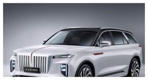 国内顶级新能源SUV前来报到,红旗E-HS9官图发布