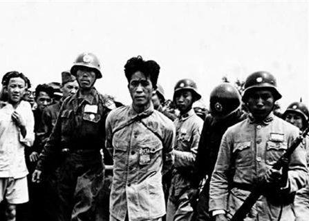 振奋人心,日本战犯松本洁伏法全过程 此人在嘉善曾屠杀百人
