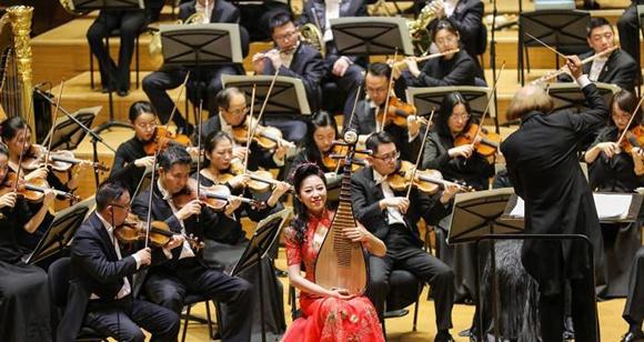 """第21届""""相约北京""""国际艺术节举办新年音乐会"""