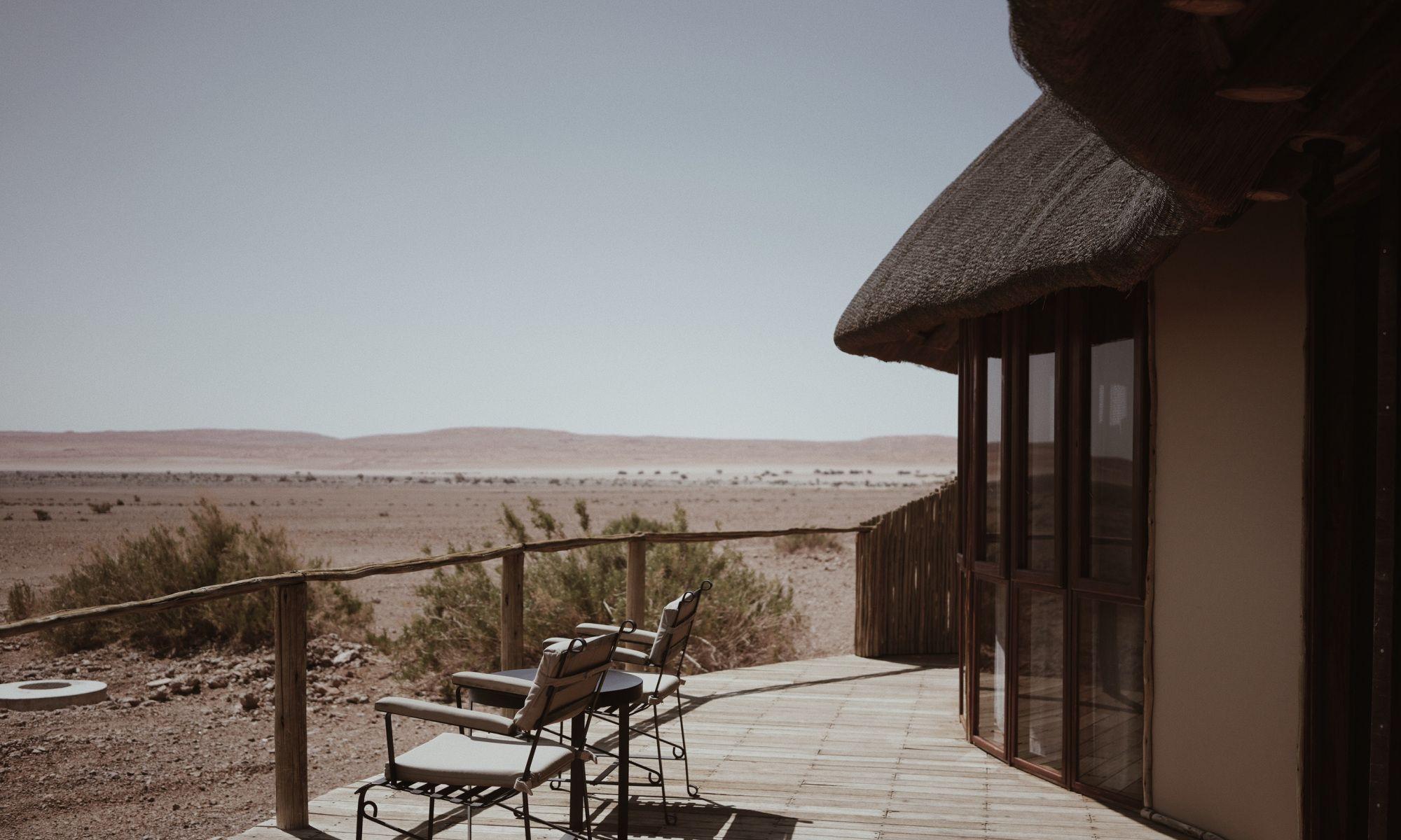 纳米比亚红沙漠里的酒店,随手就能拍高级大片