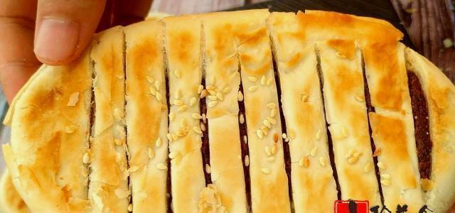 家常红豆酥饼最详细的做法,无添加剂,香甜酥脆,手一碰直掉渣