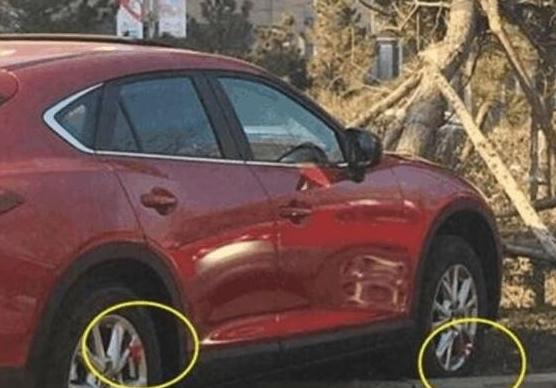 清明路上,尽量避让车轮系红绳的车辆,老司机:这都是为你好