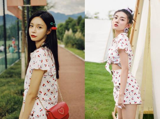 女明星撞衫:孔雪儿成熟,热巴乖巧,看钟楚曦:绝对别跟她穿同款