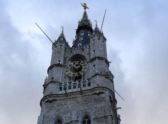 根特是比利时重要的工业城市,也是洋溢着书香气息的大学城