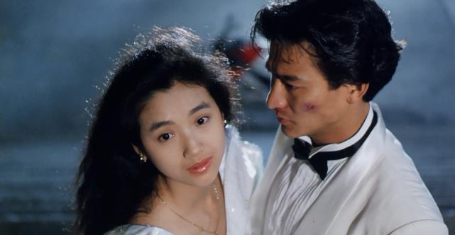《天若有情》:巅峰期的刘德华和吴倩莲,多图详解30年前的审美
