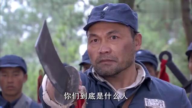乔装成日本兵的姐妹俩,遇见了不认识的大刀队,一时说不清了