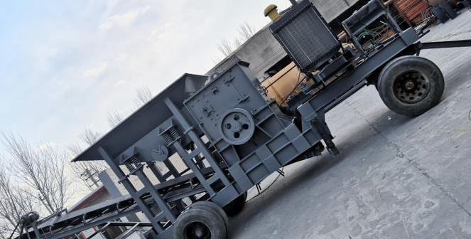 移动式破碎机 叶轮洗沙机 细砂回收机 滚筒式筛沙机 直线振动筛